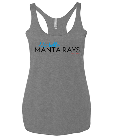 Marbella Swim Adult Ladies Racerback Tank (Premium Heather)