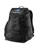 Marbella Swim Personalized Backpack (Black)