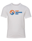 MSDN Stop Drowning Now Youth CVC Crew (White)