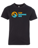 MSDN Stop Drowning Now Youth CVC Crew (Black)