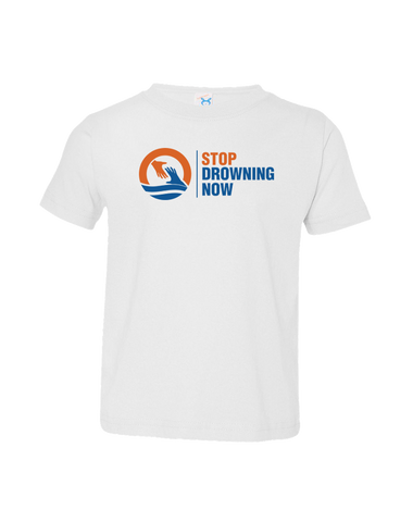 MSDN Stop Drowning Now Toddler Shirt (White)