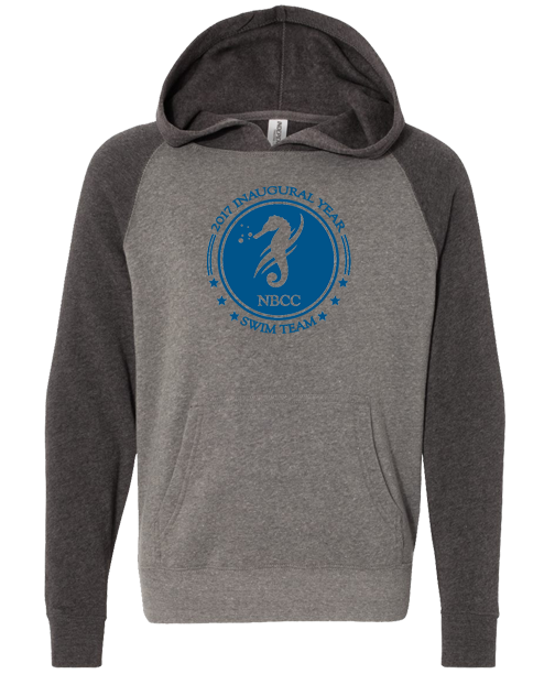 NBCC Swim Youth Pullover Hoodie (Nickel Carbon)
