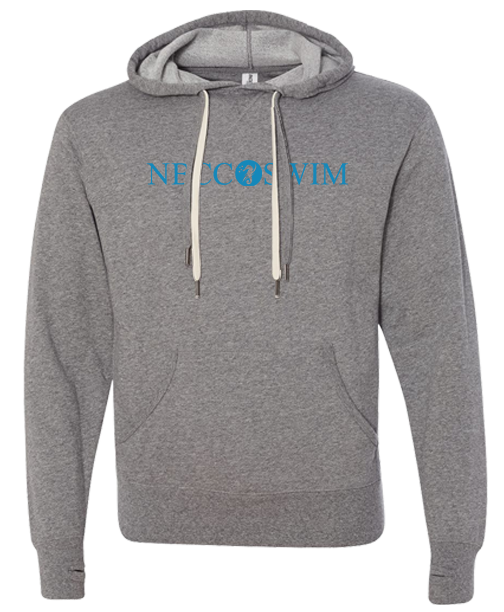 NBCC Swim Adult Pullover Hoodie (Salt n Pepper)