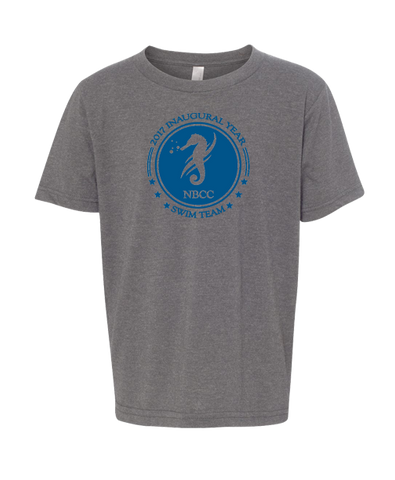 NBCC Swim Youth Tee (Dark Heather)