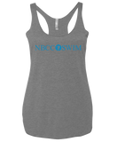 NBCC Swim Adult Ladies Racerback Tank (Premium Heather)