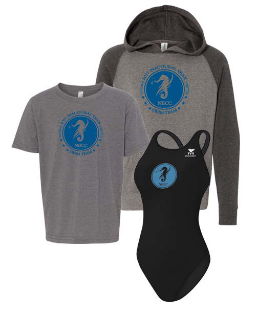 NBCC Swim Girls Bundle (Black)