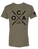 OC Athletix Core Mens Tri-Blend Crew (MilitaryGreen)