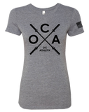 OC Athletix Core Womens Tri-Blend Tee (PremiumHeather)