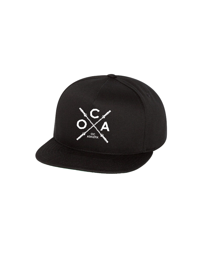OC Athletix Snapback Cap (Black)