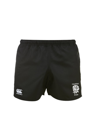 Pasadena Rugby Premium Match Short Womens Fit (Black)