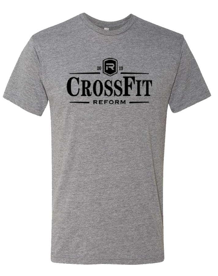CrossFit Reform Guiness Mens TriBlend Crew (PremiumHeather)