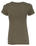CrossFit Reform Limits Womens TriBlend Tee (MilitaryGreen)