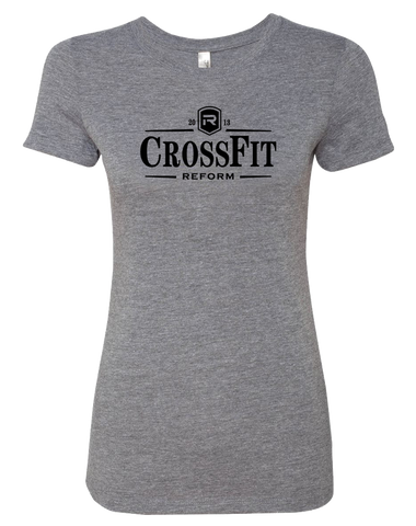 CrossFit Reform Guiness Womens TriBlend Tee (PremiumHeather)