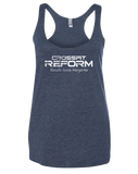 CrossFit Reform RSM Womens TriBlend Race (VintageNavy)