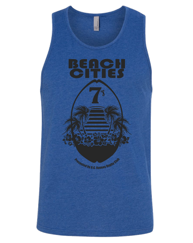 Ravens Beach Cities 7s Tank (Royal Blue)