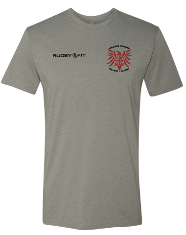 Ravens Rugby Tee (Stone Grey)