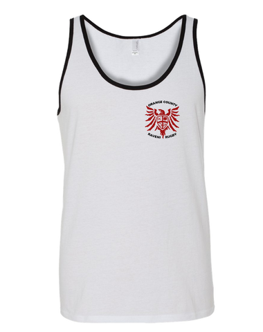 Ravens Rugby Tank (White)