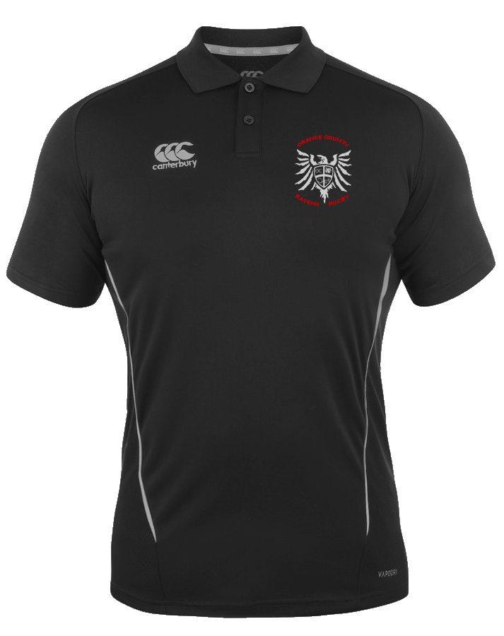 Ravens Rugby Team Polo (Black)