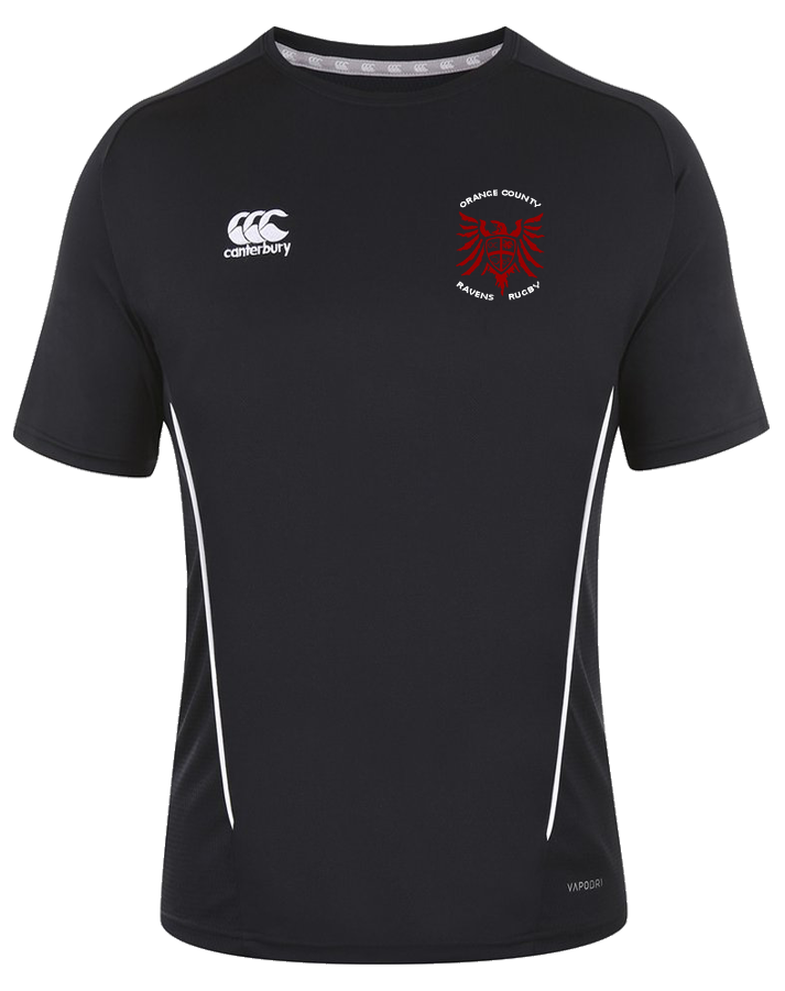 Ravens Rugby Training Shirt (Black)