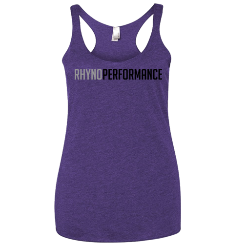 Rhyno Performance Ladies Racerback (Purple Rush)