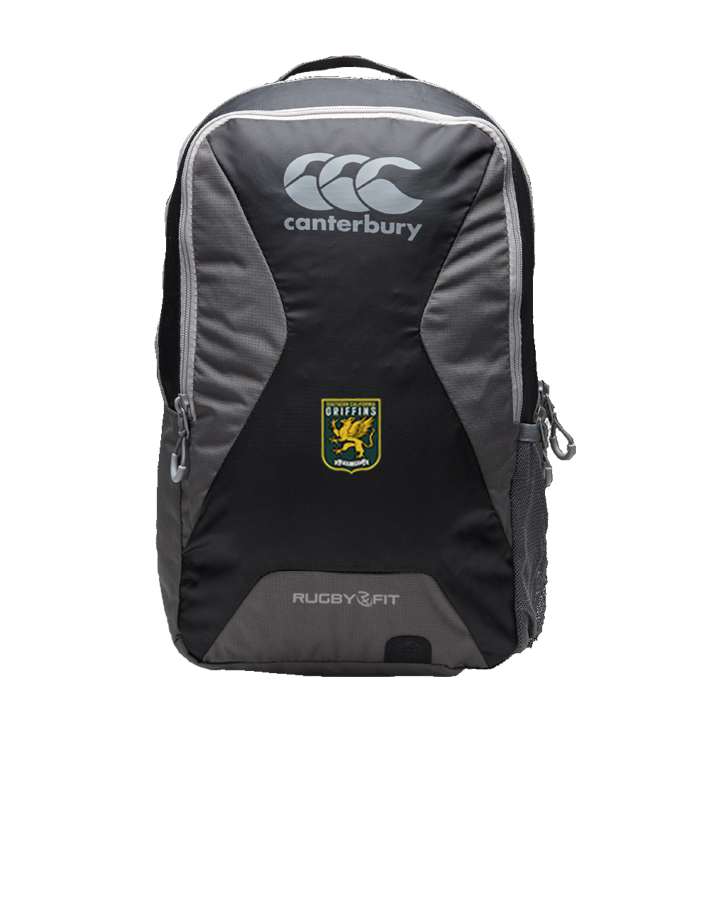SCRFU Griffins Teamwear Backpack (Black-Grey)