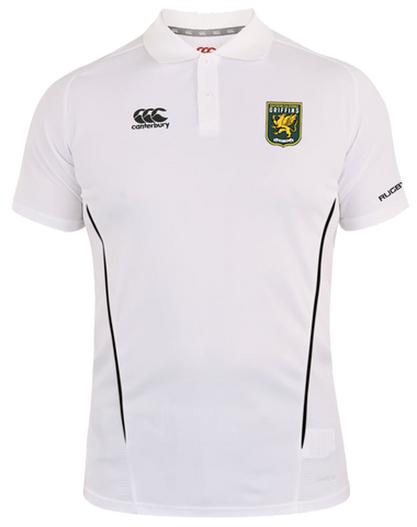 SCRFU Griffins Team Dry Polo (White-Black)