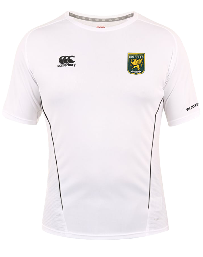 SCRFU Griffins Team Dry Tee (White-Black)
