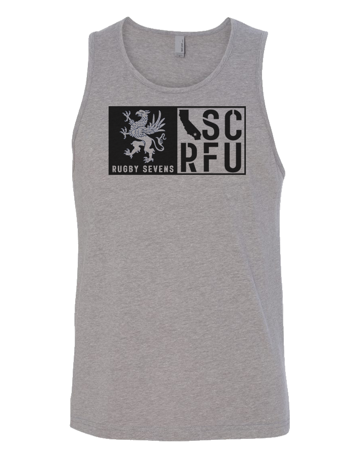 SCRFU Rugby Sevens Mens Tank (Dark Heather)