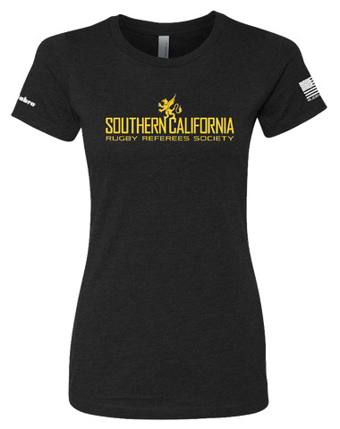 SCRRS Womens CVC Crew (Black)