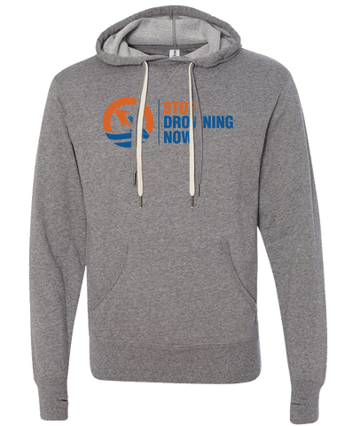 SDN Stop Drowning Now Pullover Hoodie (Salt-n-Pepper)