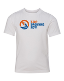 SDN Stop Drowning Now Youth CVC Crew (White)