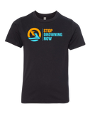 SDN Stop Drowning Now Youth CVC Crew (Black)