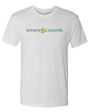 Shady Canyon Adult Mens TriBlend Crew (HeatherWhite)