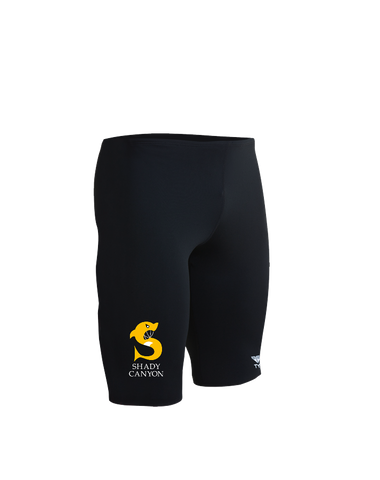 Shady Canyon Boys Durafast One Jammer Swimsuit (Black)