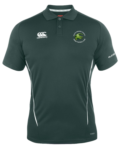 Gator Rugby Vapodri Polo (Forest-White)