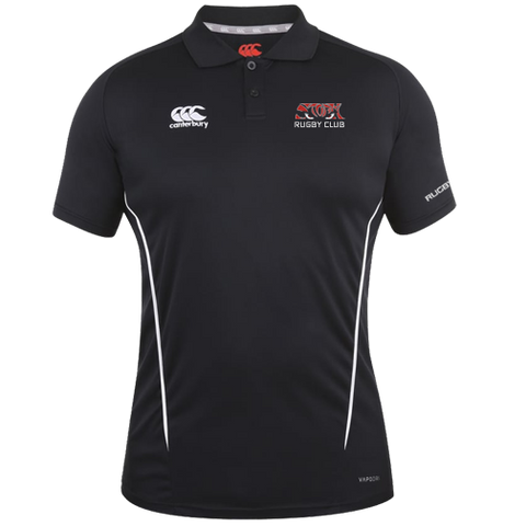 Storm Rugby Team Dry Polo (Black-White)