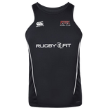 Storm Rugby Team Dry Singlet (Black-White)