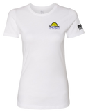 Suntrek Womens The Boyfriend Tee (White)