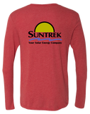 Suntrek Triblend Long Sleeve Tee (VintageRed)