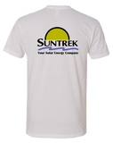 Suntrek Mens Premium Sueded Tee (White)