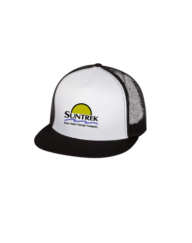 Suntrek Trucker Cap (Black-White)