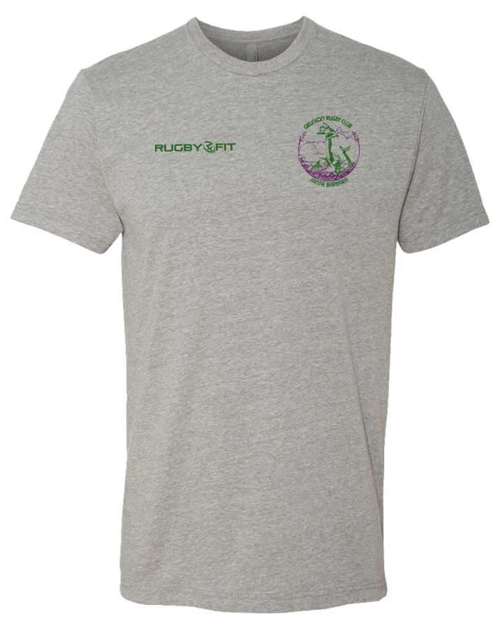 Copy of Santa Barbara Club Tee (Heather Grey)