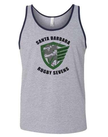 Santa Barbara Rugby 7s Tank (Heather Grey)