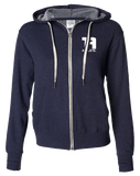 Tru Athletics Core Full Zip Hoodie (NavyHeather)