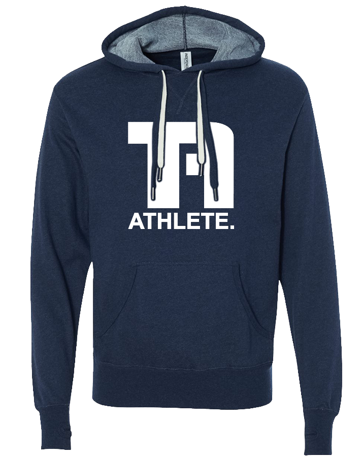 Tru Athletics Core Pullover Hoodie (NavyHeather)