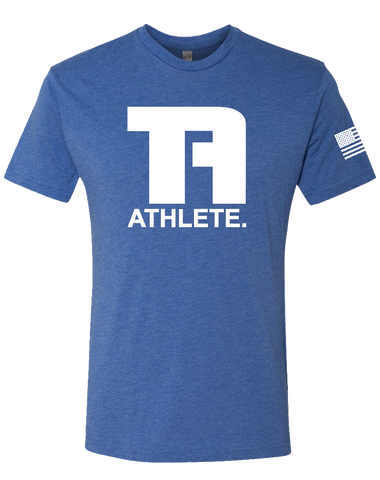 Tru Athletics Core Mens Tri-Blend Crew (VintageRoyal)