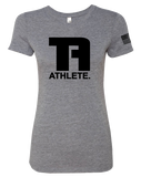 Tru Athletics Core Womens Tri-Blend Tee (PremiumHeather)