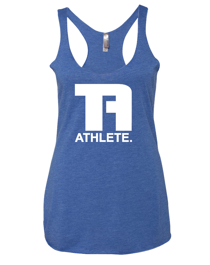 Tru Athletics Core Womens Tri-Blend Racerback Tank (VintageRoyal)
