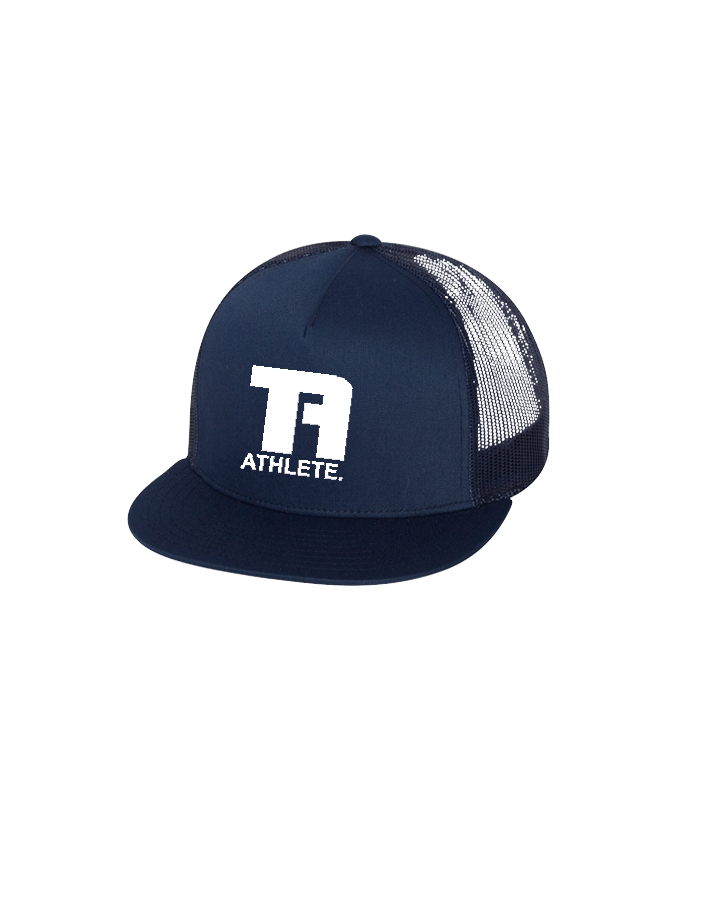 Tru Athletics Core Trucker Cap (Navy)