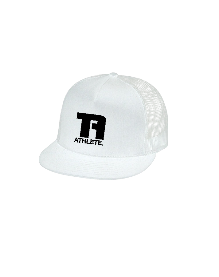 Tru Athletics Core Trucker Cap (White)